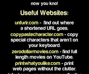 life hack, useful, and websites image