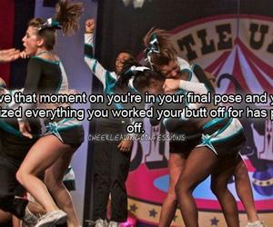 cheerleading, cheer, and girl image