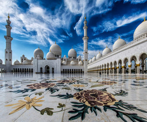 abu dhabi, UAE, and sheikh zayed grand mosque image