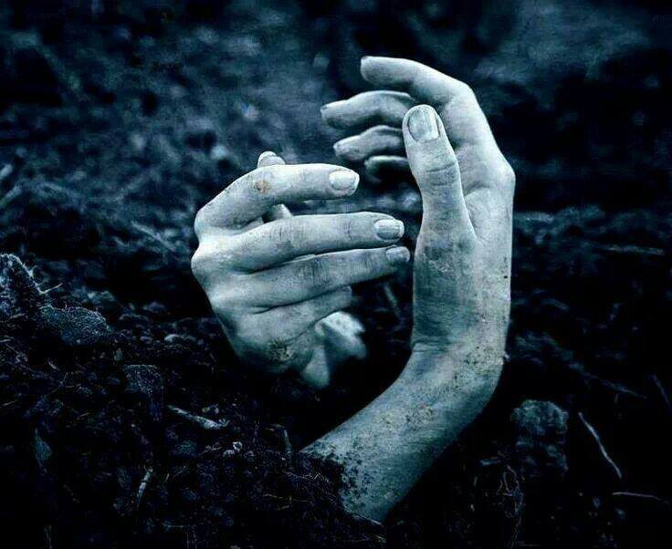 hands, forever, and death image