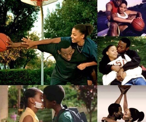 movie, love and basketball, and love image