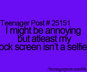 teenager post and selfie image