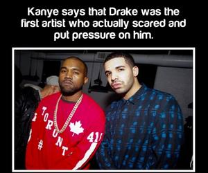 Drake, fact, and kanye west image