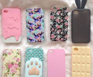 cases, iphone, and pretty image