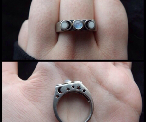celtic, ring, and wiccan image