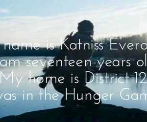 the hunger games, katniss everdeen, and district 12 image