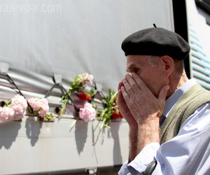 flowers, genocide, and bosnia and herzegovina image
