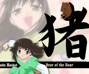 fruits basket, anime, and kagura image