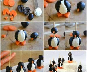food, penguin, and diy image