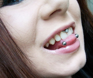 piercing and tongue image