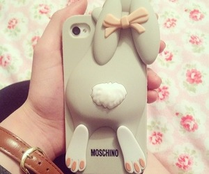 iphone and rabbit image