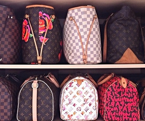 Louis Vuitton, LV, and speedy image