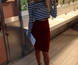 fashion, skirt, and fridafle image