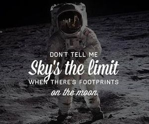 moon, limit, and sky image
