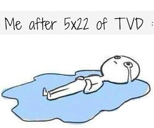 tvd, the vampire diaries, and 5x22 image