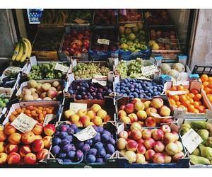 fresh, fruit, and market image