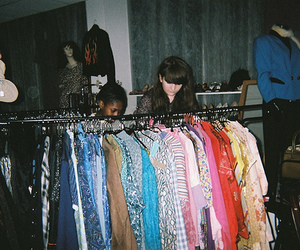 clothes, hanger, and vintage image