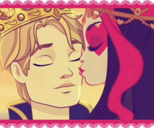 eah, ever after high, and lizze+daring image