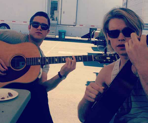 glee, darren criss, and chord overstreet image