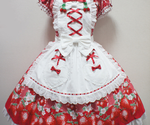 angelic pretty, strawberry, and sweet lolita image