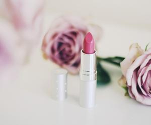 girl, lipstick, and makeup image