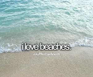 beach, beaches, and quote image