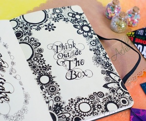 doodle, drawing, and inspiration image