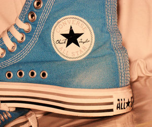 blue, converse, and all star image