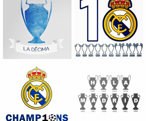 diez, reyes de europa, and real madrid image