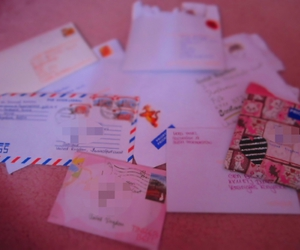 letters, pen pals, and cute image