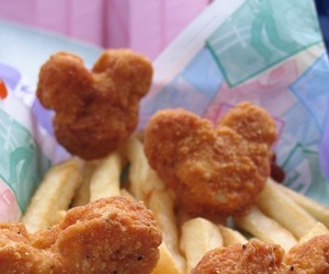 nuggets, food, and mickey image