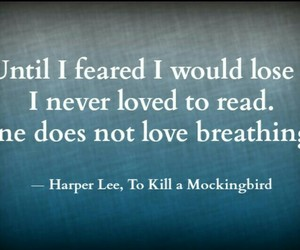 quote, book, and Harper Lee image