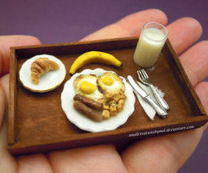 breakfast, day, and healthy image