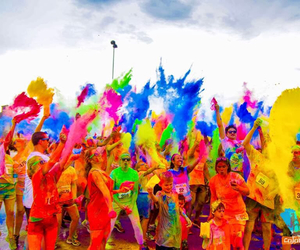 fest life color festival and i want to go !! image