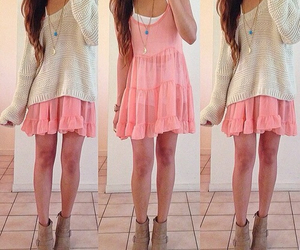 girly, beautiful, and outfit image
