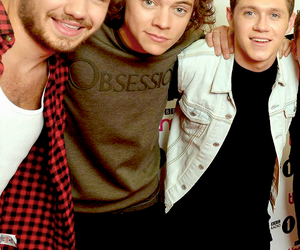 niall horan, Harry Styles, and liam payne image