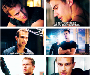 four, quotes, and divergent image