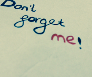 dont, forget, and me image