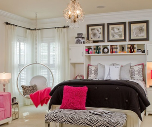 girly, room, and house image
