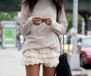 lace and skirt image