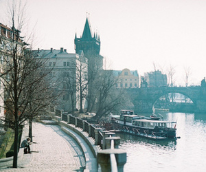 city, vintage, and prague image