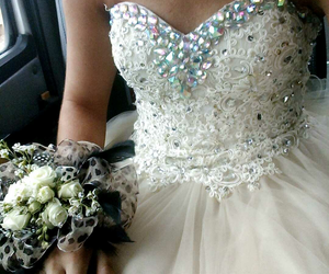 beautiful, dresses, and in love image