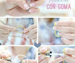 nails, manicure, and diy image
