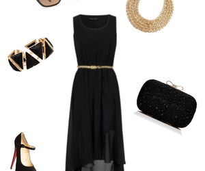 chic, dress, and outfit image