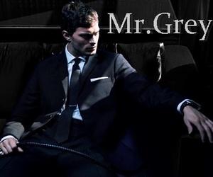 christian grey and 50 sombras de grey image