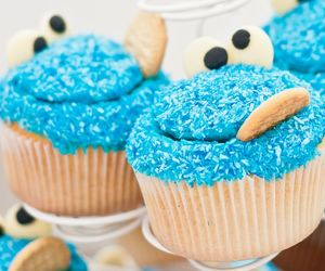 artfood, cupcakes, and delicious image