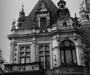 architecture, black and white, and vintage image