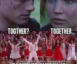 high school musical, lol, and katniss image
