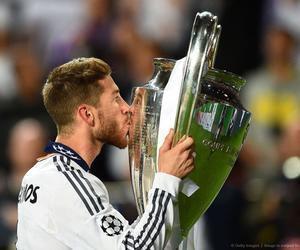 sergio ramos, real madrid, and champions league image