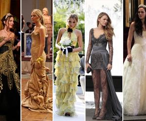 blair, serena, and dress image